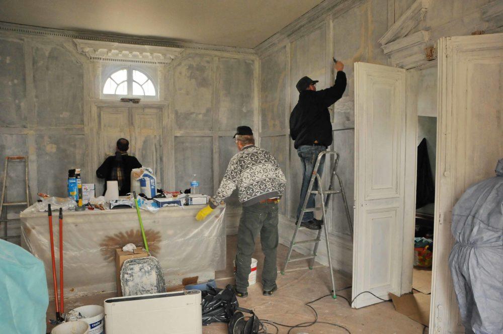 Rénovation de la Chapelle de Villarceaux