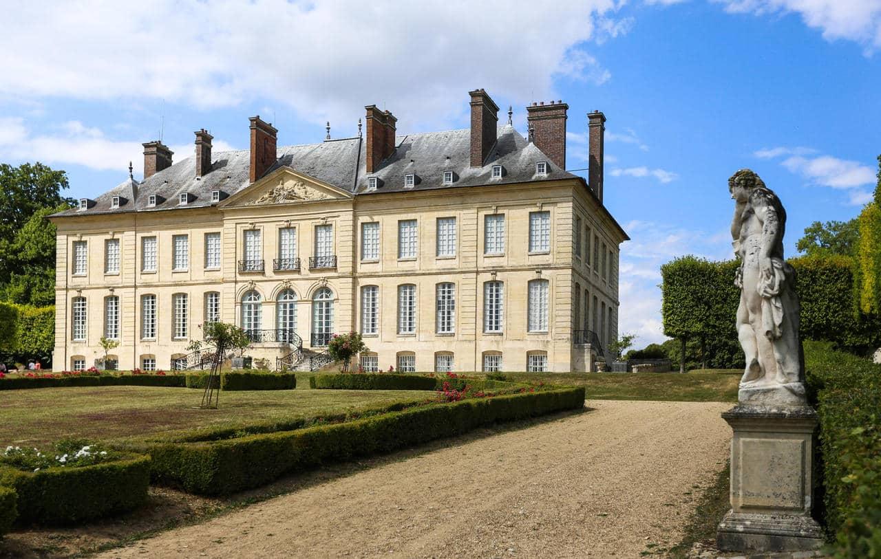 Visite du domaine de Villarceaux