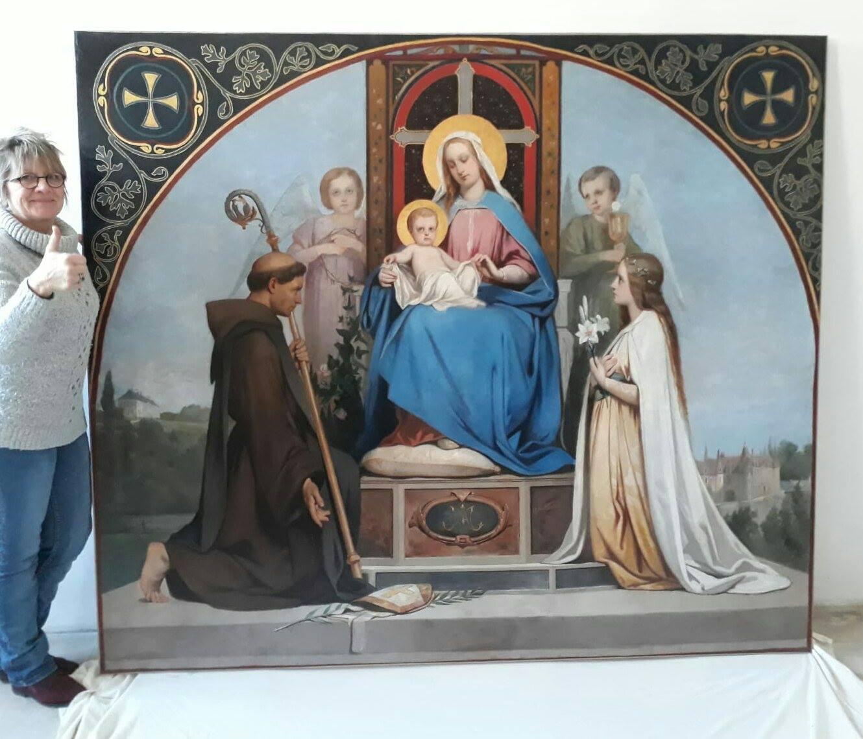 La Vierge en Majesté